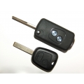 Flip Remote Key Case For Peugeot 307 Remote Key