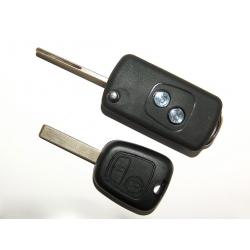 Carcasa Para Convertir en Plegable Peugeot 307 2 Botones