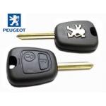 Carcasa Para Telemando Peugeot Con Espadin Encastrado
