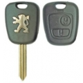Housing Remote Control Peugeot 2 Buttons Cross Key