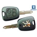 Housing For Remote Control Peugeot 206 2 Buttons