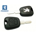 Housing for key remote control with fixed Peugeot 406 and 307 first series