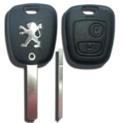 Carcasa Peugeot de 2 Botones