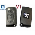 Housing For Remote Control Peugeot 407 / 607