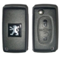 Housing For Remote Control Peugeot 2 Buttons