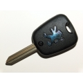 Peugeot 2 Button Remote Key Case With SX9 Blade (New Style)