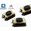 Switch For Folding Remote Control Peugeot 407 and Citroen C4
