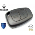 Housing For Remote Control Renault / Opel and Dacia