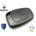 Carcasa Para Telemando Renault / Opel y Dacia