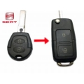 Housing For Adapt Control 2 Buttons Seat Leon 2002>2004 Key Fixed to Folding