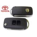 carcasa de 2 botones plegable con espadin para Toyota Yaris y Highlander