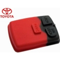 RUBBER BUTTONS FOR TOYOTA VIOS AND COROLLA OF 3 BUTTONS