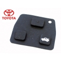 BUTTONS OF RUBBER FOR CONTROLS TOYOTA OF 3 PUSH