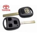 carcasa de 3 botones para Toyota