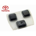 RUBBER BUTTONS FOR TOYOTA WITH 3 BUTTONS