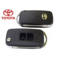 housing for Toyota Yaris and Highlander 2-button key