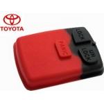 goma botones para Toyota Vios y Corolla de 3 botones