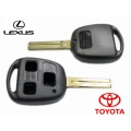 housing for Toyota and Lexus 3 button key