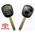 HOUSING FOR REMOTE CONTROL + SPRAT / KEY, 2 BUTTONS, TOYOTA TOY43 / TOYO15