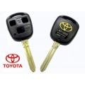 3-botão do controle remoto de habitação para a Toyota