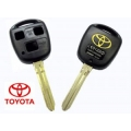 housing for control remote with key 3-button Toyota