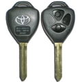 Housing For Remote Control Toyota of 3 Buttons