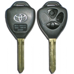 Carcasa para Telemando Toyota de 3 Botones