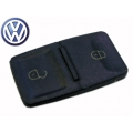 Buttons of Rubber 2 Push For Remote Volkswagen Passat