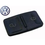 Botones de Goma 2 Pulsadores Para Telemando Volkswagen Passat