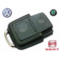 Remote Housing For Volkswagen / Seat and Skoda of 2 Buttons