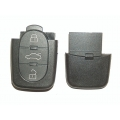 Round 3-Button Remote Casing For Audi / Volkswagen