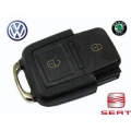 Housing For Remote Control Volkswagen 2 Buttons