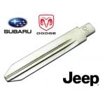 Dodge / Jeep Cherokee espadin para telemando con espadin plegable