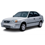 llave fija para Hyundai Accent 1996>1999 Transponder Texas fijo 4C