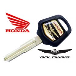 Llave para motocicletas Honda Goldwing con transponder (Transponder no incluido)