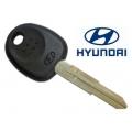 llave fija para Hyundai Lantra 1996> Coupe 1996>2002 Transponder Texas Fijo 4C