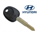 KEY WITH TRANSPONDER HYUNDAI TUCSON -L- (ID46)