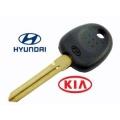 llave HYN14 con transponder 46 para Hyundai y Kia