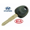 Hyundai Atos key with original transponder 46