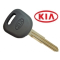 KEY WITH TRANSPONDER KIA CARENS (ID46) GRAY