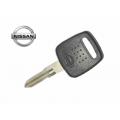 llave fija para Nissan Micra / Cabstar 2000 Transponder Texas crypto (blue) 4D ID60
