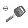 llave fija para Nissan Primera  / Almera 1999 Transponder Texas crypto (azul) 4D ID60