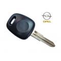 llave fija para Opel Monterey 2000 / Frontera 1998 Transponder Texas Crypto 4D ID64