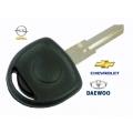 llave HU46 para transponder espadin y carcasa para Opel sin logo