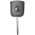 Folding Key For Square Control Skoda Transponder Megamos Crypto 48 CAN