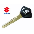 black key (for transponder) for Suzuki motorcycles