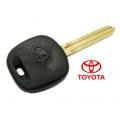 Carcasa con espadin fijo, llave fija para Toyota sin transponder