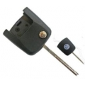 Folding Key For Square Control Volkswagen Transponder Megamos Crypto 48