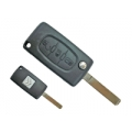 Remote Citroen C4 / C6 of 3 Buttons Light ID46