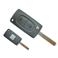Folding Remote Control Citroen C4 Picasso 2 Buttons